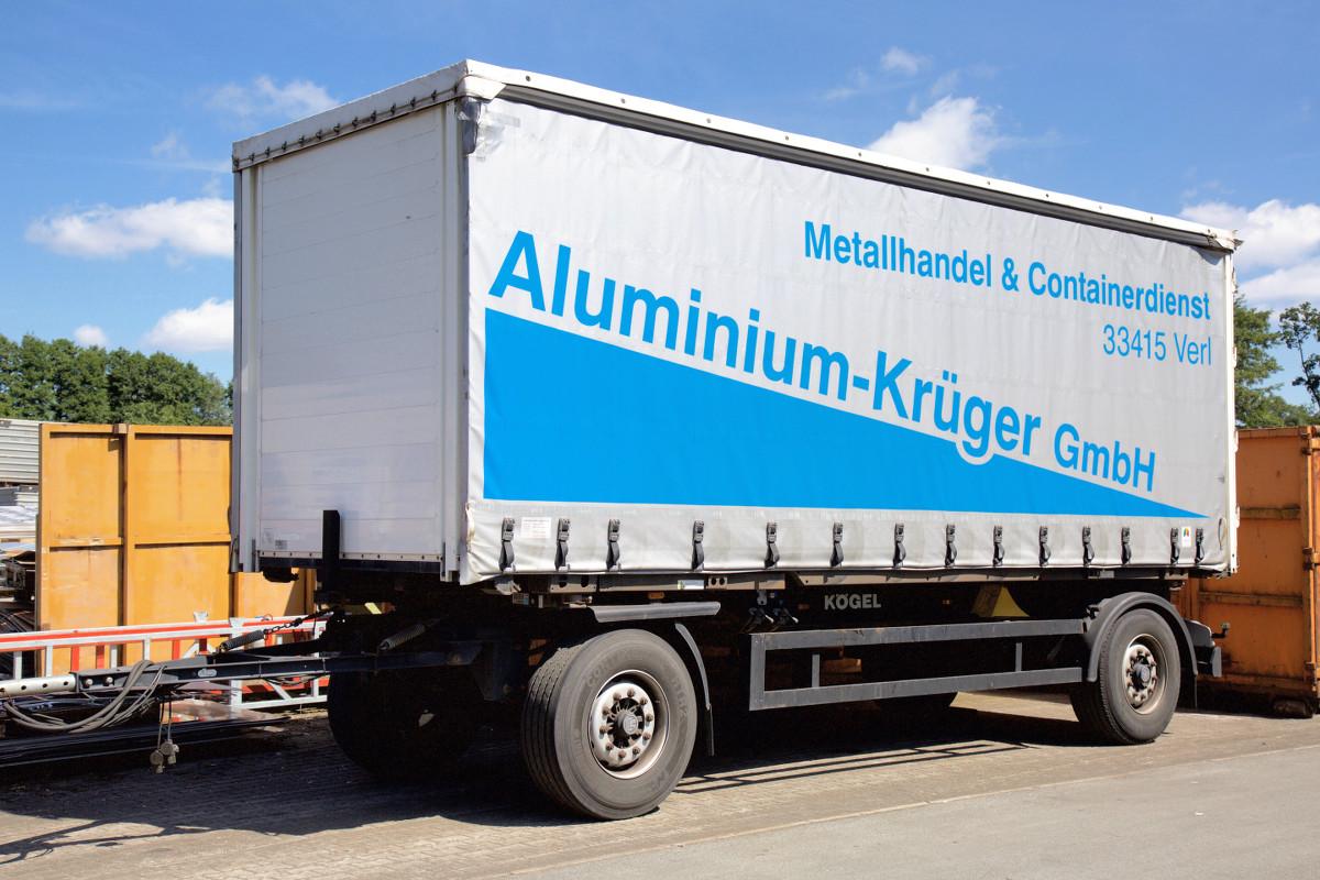 Aluminium Krüger – Anhänger